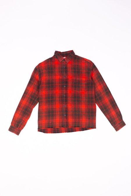 John Elliott Hemi Oversized Shirt - Paloma Check