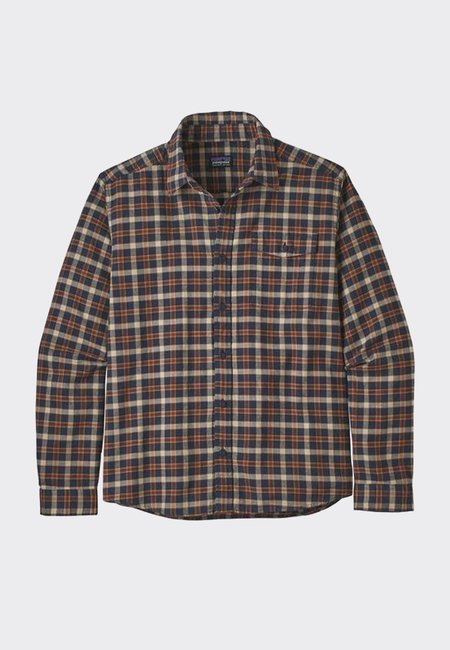 Patagonia Light Weight Fjord Flannel Shirt - New Navy