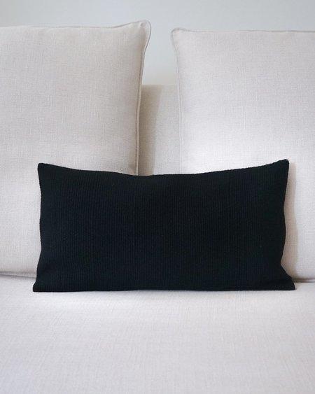 VOZ Solid Lumbar Pillow - Black