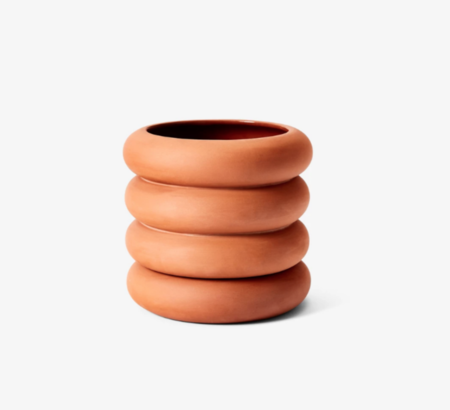 Areaware Tall Stacking Planter - Terracotta