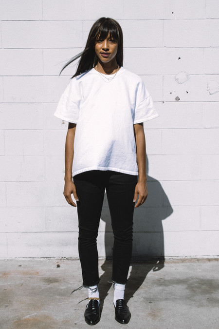 L'equip Optic French Terry Box Crew Tee