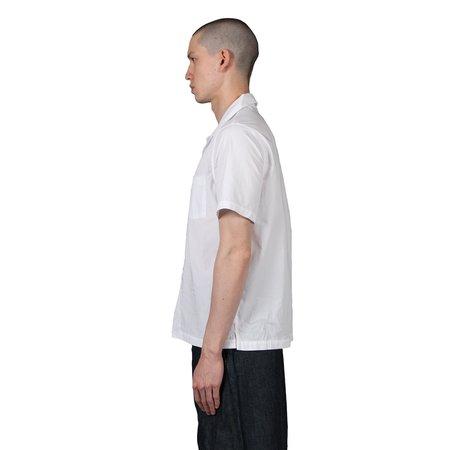 Knickerbocker Comma Shortsleeve Camp Shirt - Avalanche