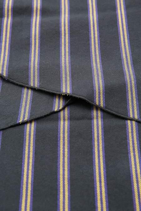 Engineered Garments Long Scarf - Black/Brown Vintage Check Flannel