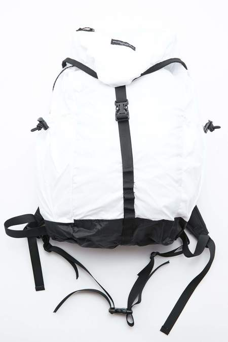 Engineered Garments UL Backpack - White Nylon Ripstop