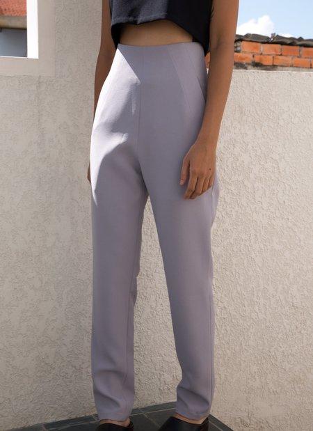 KAAREM Sam High-Waisted Pocket Pant - Taro