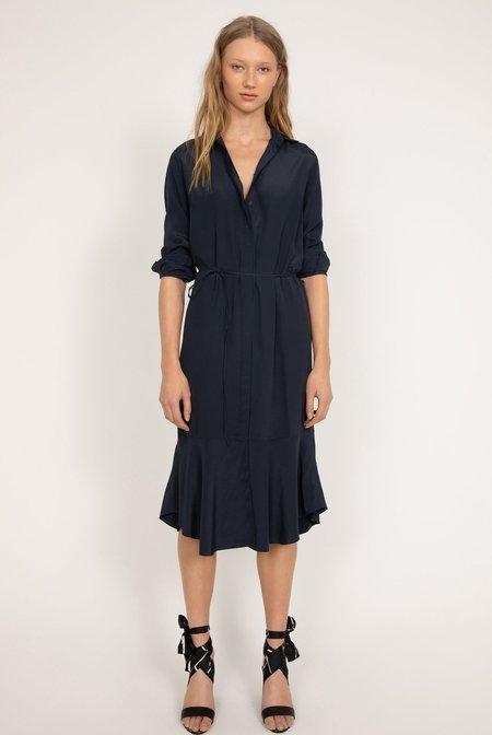 Ahlvar Gallery Li Dress - Blue Grey