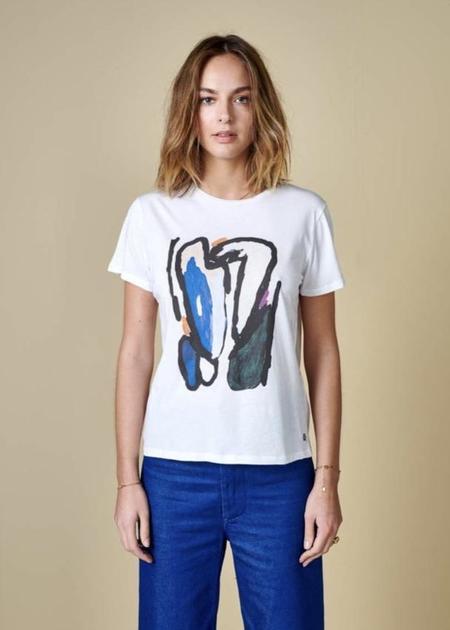 Bellerose Covi T-Shirt - Paint Print