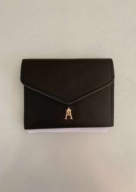 Craie Mini Plaige Wallet - Noir