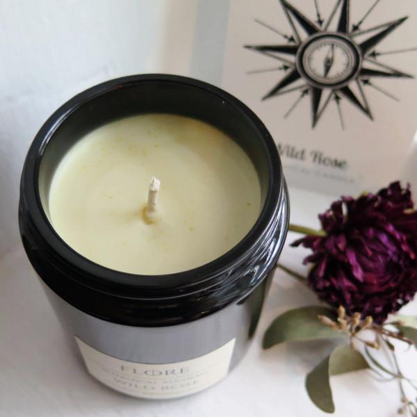 Wild Rose - Botanical Candle
