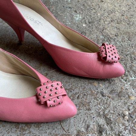 Vintage 9 West Kitten Heels