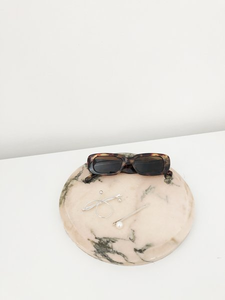 Vintage Marble Tray - Pink