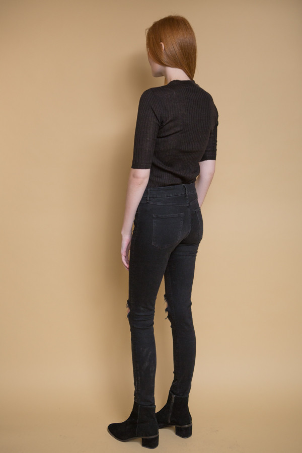 3x1 NYC W2 Skinny - Black Fade