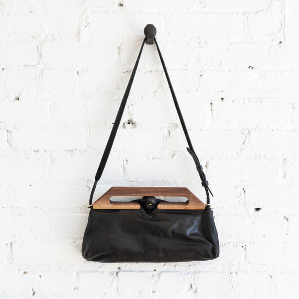 Eatable of Many Orders Tin Clutch Bag - Black