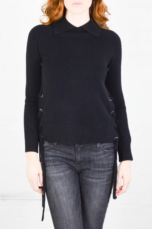 FRAME Denim FRAME 'Le Side Tie' Cropped Sweater