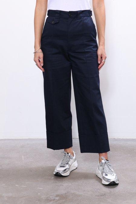 Rachel Comey Maine Pant - Navy Organic Chino