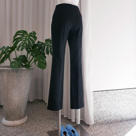 Rejina Pyo Norma Linen Blend Trousers - Black