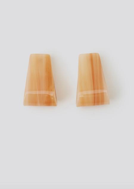 Rachel Comey Slalom Earring - Honey