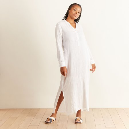 Hartford Linen Recolte Dress - White