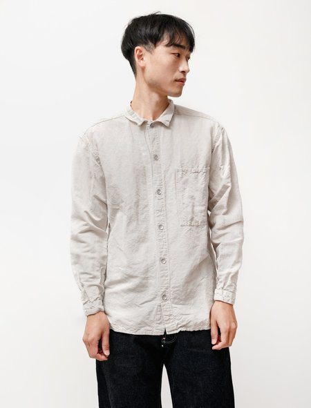Tender 492 Bench Shirt in Linen Covert Rinse Washed