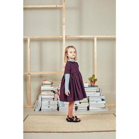 Kids Paade Mode Feline Dress - Burgundy
