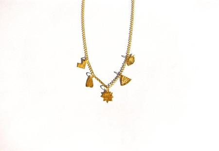 Après Ski Beyaz Necklace - Gold plated silver