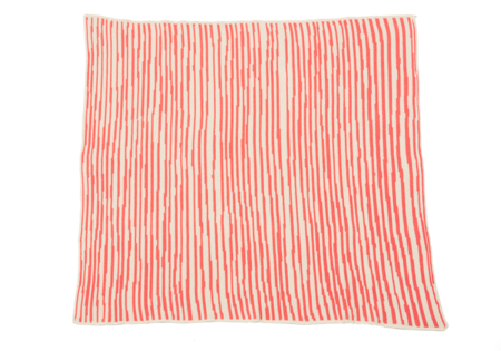 Kids Hillery Sproatt Coral Stripes Children's Blanket