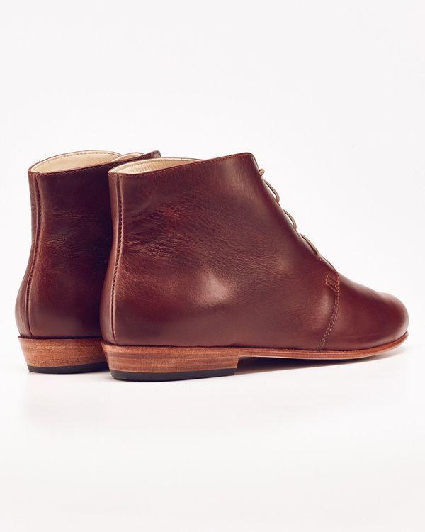 Nisolo Harper Chukka Boot Brandy 5 for 5