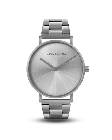 Larsen & Eriksen Reloj Absalon 37mm Watch - Silver Silver