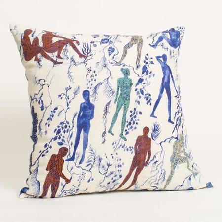 Olivia Wendel Silhouettes I Pillow