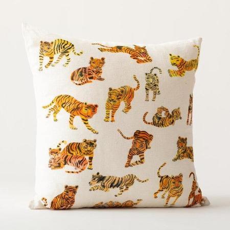 Olivia Wendel Wild Tigers Pillow