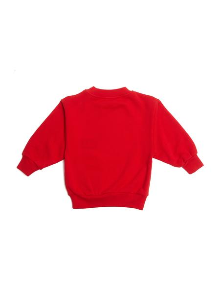 KIDS Balenciaga Embroidered Sweatshirt - RED