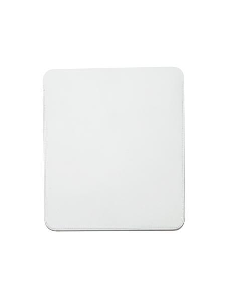 Isaac Reina Leather iPad Case - White