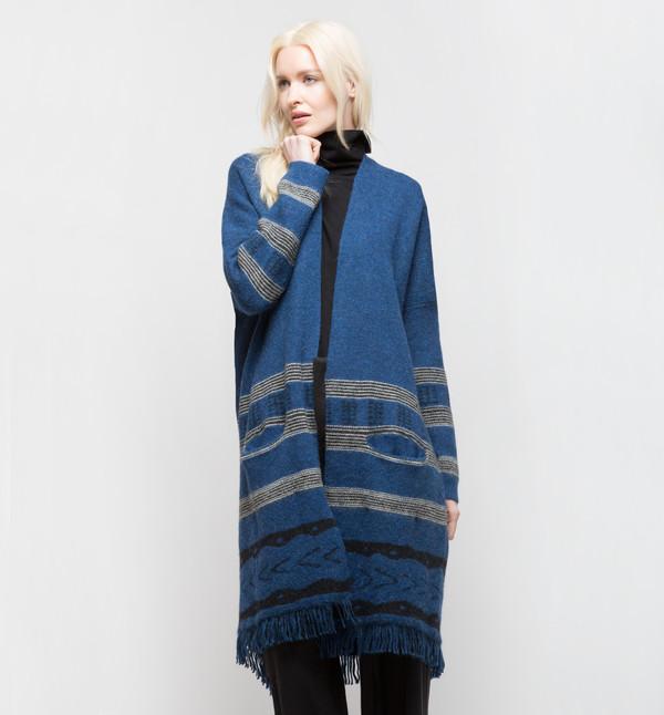 Lemlem Dilla Cardigan Blue