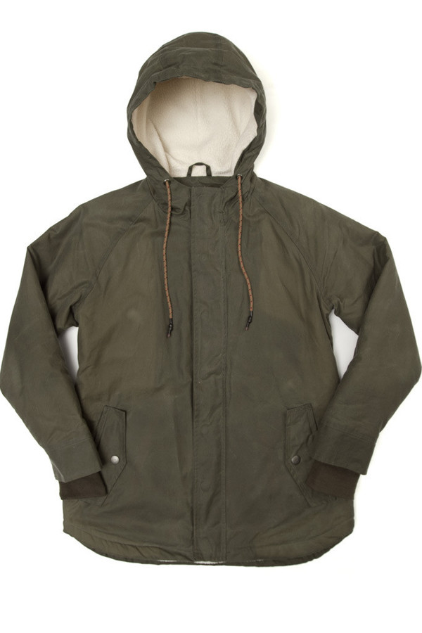 Bridge & Burn Sequoia Parka Field Green