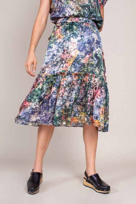 Raquel Allegra Romance Skirt - Teal
