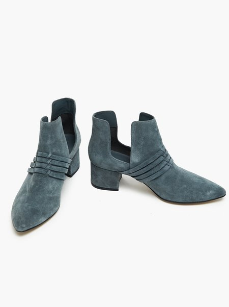 Mabel and Moss Joselyn Suede Boot - Blue