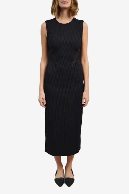 Opening Ceremony Thalia Puckered Dress - Black