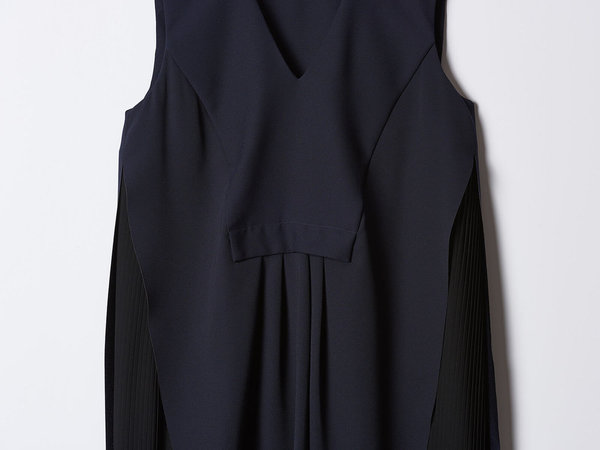 Carven Navy Dress