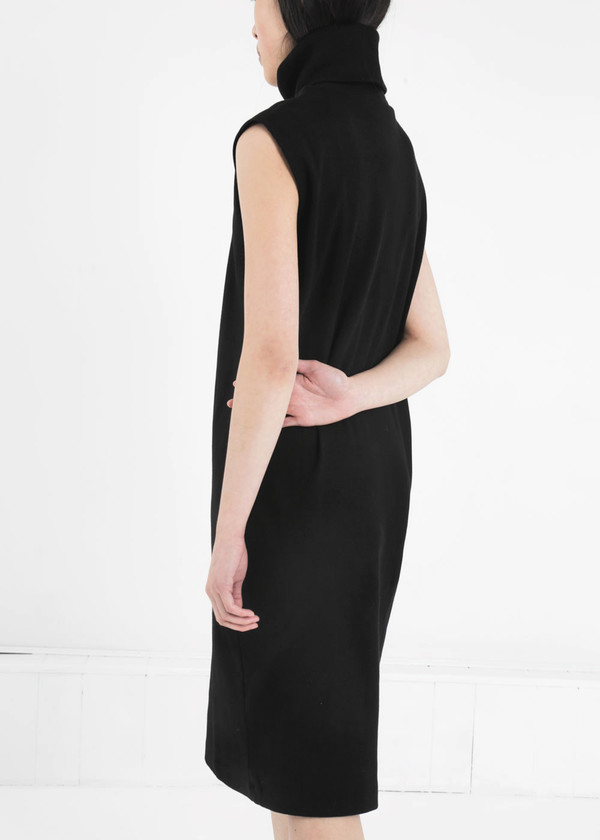 Kowtow Building Block Rib Roll Neck Dress