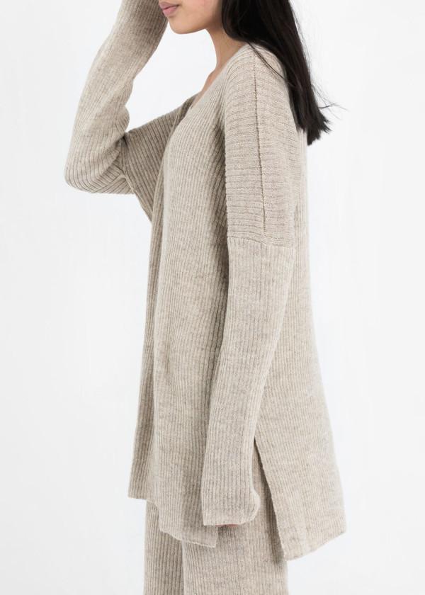 Kordal Sand Grey Evelyn Sweater