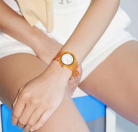 Unisex Breda Play Watch - Tangerine