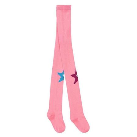 Kids Stella McCartney Child With Star Pattern Tights - Pink