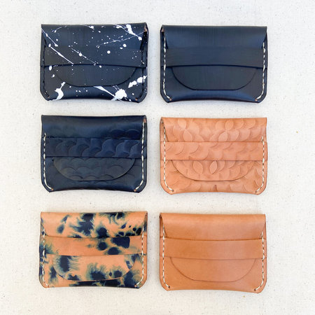 Made Solid Fold Over Wallet