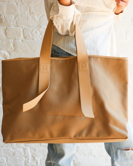 Pre-loved Rejina Pyo Carter Canvas Tote - Beige