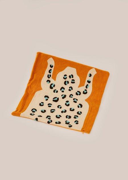 Cold Picnic Leopard Pillow Cover