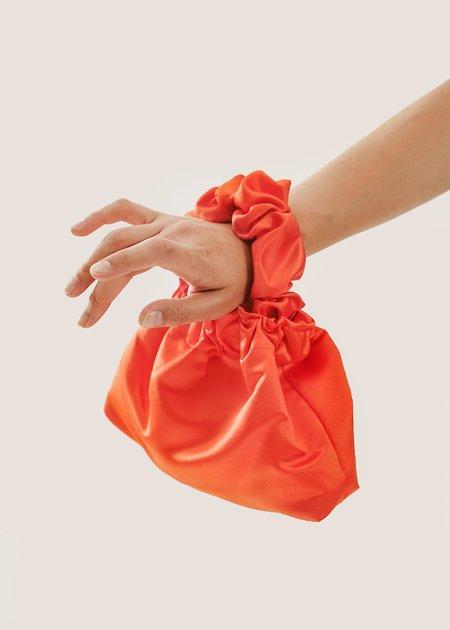 Bronze Age Halo Scrunchie Bag - Orange