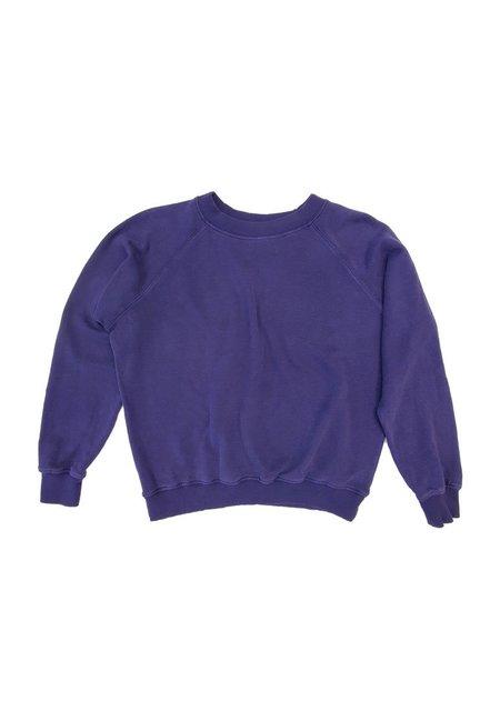 Jungmaven Bonfire Raglan Sweatshirt - Deep Purple