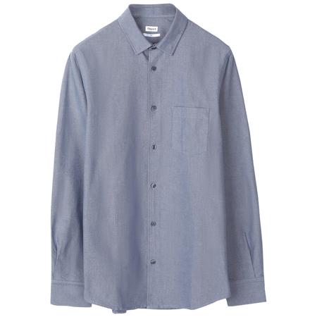 Filippa K Tim Oxford Shirt - Pacific Blue