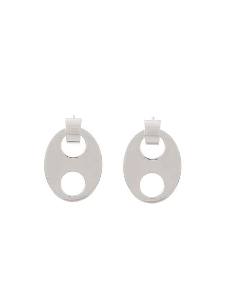 Paco Rabanne Eight Earrings - Silver