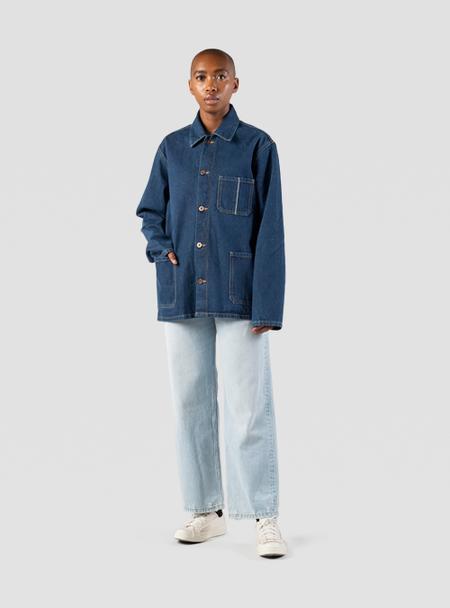 I AND ME Organic Selvedge Chore Jacket - Indigo
